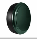 Rigid Tire Cover in Black Forest Green Pearlcoat