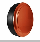 Rigid Tire Cover in Sunset Orange