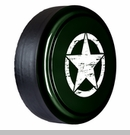 Rigid Tire Cover, OM Star, Black Forest Green Pearl by Boomerang