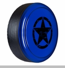 Rigid Tire Cover, OM Star Design, Deep Water Blue Pearl by Boomerang