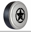 Rigid Tire Cover, OM Star Design, Light Graystone Pearl by Boomerang