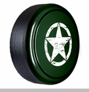 Rigid Tire Cover, OM Star Design, Natural Green Pearl by Boomerang