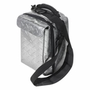 Road Chill Six Pack Can Cooler in Diamond Plate Silver by VDP