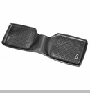 Rr Floor Liner with Jeep Logo Jeep Cherokee 1984-2001 Blk Rugged Ridge