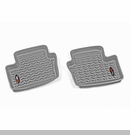 Rr Floor Liners Jeep Compass & Patriot 2007-2017 Gry Rugged Ridge