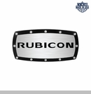 Rubicon Logo Billet Hitch Cover