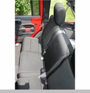 Seat Cover Wrangler JK 2D 2007-2017 Rear Black Rugged Ridge
