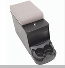 Security Floor Console for Jeep CJ and Wrangler YJ - Denim Gray