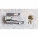 Silver Hood Lock Kit - Jeep Wrangler TJ, LJ Unlimited 1998-2006