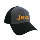 Snapback Mesh Embroidered Jeep Hat