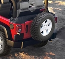 Soft Top Storage Boot w no Twill Tops Wrangler JK 2007-2009 Rampage