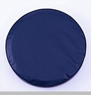 Solid Spare Tire Cover in Navy Blue