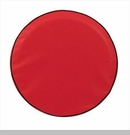 Solid Spare Tire Cover in Red