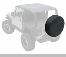 "Spare Tire Cover 27""-29"" Denim Black by Smittybilt"