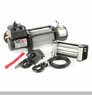 Spartacus Heavy Duty Winch w/Steel Cable Rugged Ridge 10,500 lbs Rated