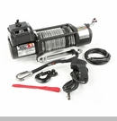 Spartacus Heavy Duty Winch w/Steel Cable Rugged Ridge 8,500 lbs Rated