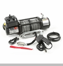 Spartacus Performance Winch w/Synth Rope Rugged Ridge 10,500 lbs Rated