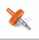 Speedometer Gear in Orange by Rugged Ridge - 40 Teeth, Short Shaft