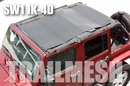 SpiderWeb TrailMesh ShadeTop - Jeep Wrangler 4 door JK 2007-2017
