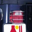 Stainless Steel Euro Tail Light Guard for Jeep CJ, YJ, TJ & LJ