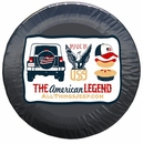 """""""The American Legend"""" Tire Cover by All Things Jeep"""