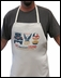 """""""The American Legend"""" White BBQ Apron by All Things Jeep"""