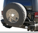 "Tire Cover 33-35"" with Clear"