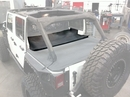 Tonneau Cover Extension Wrangler JK 4D 2007-2017 Black Diamond