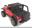 Tonneau Cover for Soft Top Channel Mount- Jeep YJ (1992-1995)