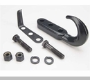 Tow Hook Kit in Black for Jeep CJ/YJ/TJ/LJ (1976-2006)