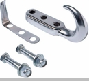 Tow Hook Kit in Chrome for Jeep CJ/YJ/TJ/LJ (1976-2006)