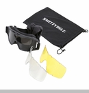 Trail Goggles with 3 Lenses & Carrying Case by Smittybilt