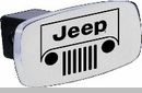 Trailer Hitch Cover with Jeep Grill Logo