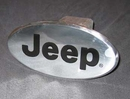 Trailer Hitch Cover with Jeep Logo