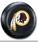 Washington Redskins NFL Tire Cover - Black Vinyl