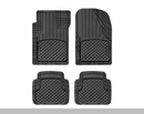 WeatherTech AVM Universal Floor Liner 4 Piece Set Black - Front & Rear