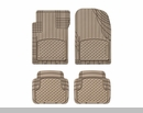 WeatherTech AVM Universal Floor Liner 4 Piece Set Tan - Front & Rear
