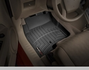 WeatherTech Floor Liners for Jeep Compass MK 2007-2017 in Black - Front