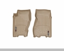 WeatherTech Floor Liners for Jeep Grand Cherokee WJ 1999-2004 Tan - Front