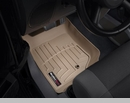 WeatherTech Floor Liners for Jeep Wrangler JK 2007-2013 in Tan - Front