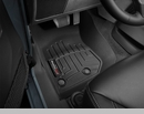 WeatherTech Floor Liners for Jeep Wrangler JK 2014-2017 Black - Front