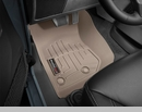 WeatherTech Floor Liners for Jeep Wrangler JK 2014-2017 in Tan - Front