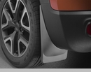 WeatherTech No Drill Mud Flaps, Rear, for Jeep Renegade BU 2015-2017 Black