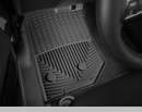 WeatherTech Rubber Mats for Jeep Wrangler JK 2014-2017 Black - Front