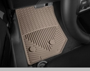 WeatherTech Rubber Mats for Jeep Wrangler JK 2014-2017 in Tan - Front