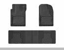 WeatherTech Universal OTH Mat Set in Black - Front & Rear