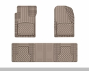 WeatherTech Universal OTH Mat Set in Tan - Front & Rear