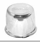 "Wheel Center Cap for Steel Wheels with 5x4.5"" Bolt Pattern in Chrome"