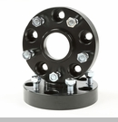 "Wheel Spacers 1.25"" 5x5"" Bolt Pattern for Grand Cherokee 1999-2004 Blk"