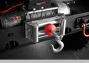 Winch Cable Stopper for Universal Application in Red by Rugged Ridge